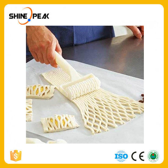 Large Size Plastic Baking Tool Cookie Pie Pizza Pastry Lattice Roller Cutter Craft Bakeware Tools Home Kitchen Gadgets