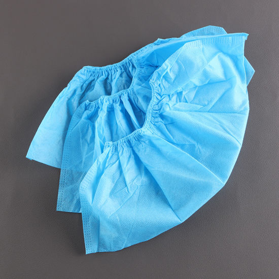 High Quality Disposable Non-Woven Shoe Cover Anti-Skid Non Anti-Skid