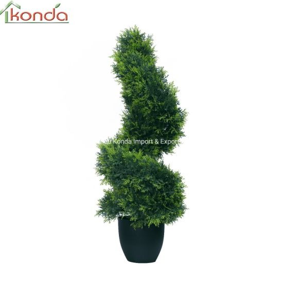 Indoor and Outdoor UV Lush Grass Leaves Topiary Plant Manufacturer