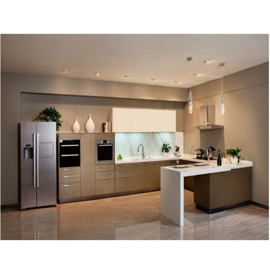 China Wooden Kitchen Cabinet Solid Wood Modern Kitchen Designs Small Kitchens China Kitchen Cabinets Kitchen Furniture