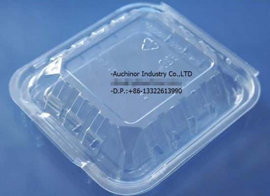 Clear Clamshell Blister Packing Plastic Disposable Packaging Fruit Cake Salad Box pictures & photos
