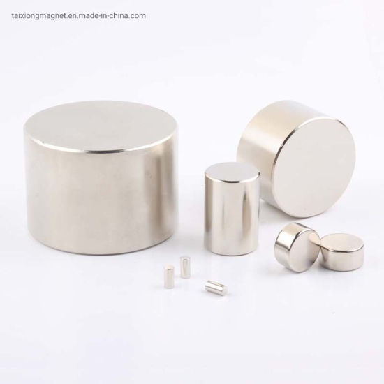 Factory Directly Supply N52 Strong Powerful NdFeB Industrial Magnets Cylinder