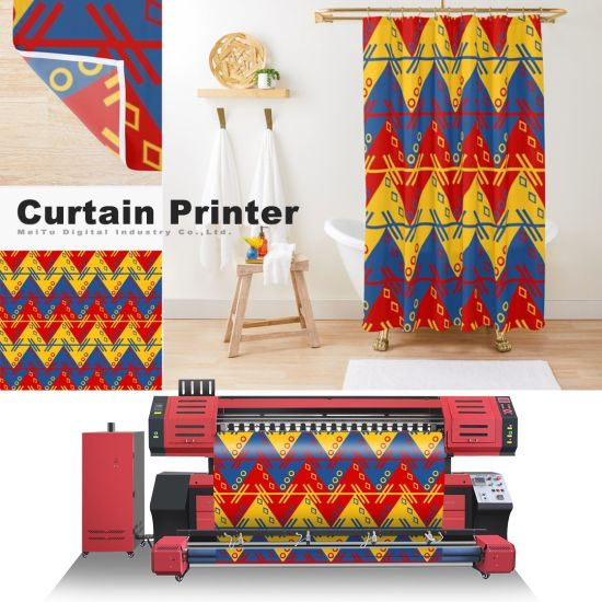 Top Selling Digital Textile Fabric Cotton Heat Press Sublimation Printing Machine