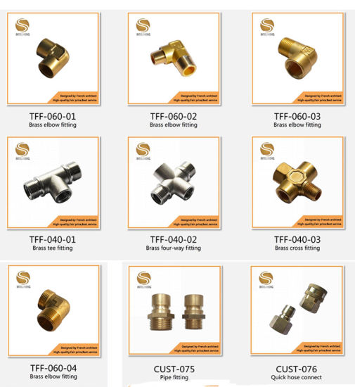 Brass Fittings Brass Fitting Wholesale High Quality Female 58-3 Brass Elbow Fittings