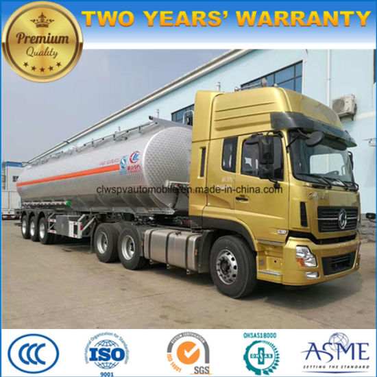 50 Tons Heavy Duty Fuel Tank Truck 50000 Liters Oil Tanker Truck pictures & photos