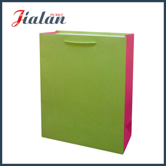 Pantone Printed Custom Logo Made Wholesales Art Paper Packaging Bag pictures & photos