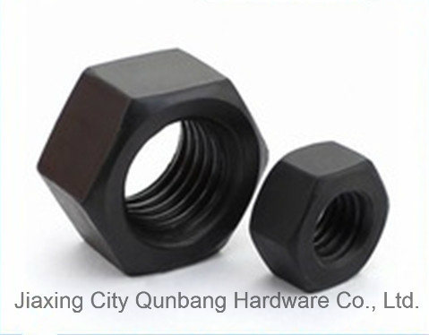 DIN6915 Heavy Hex Nuts M12-M64 Black Cl. 10 High Quality
