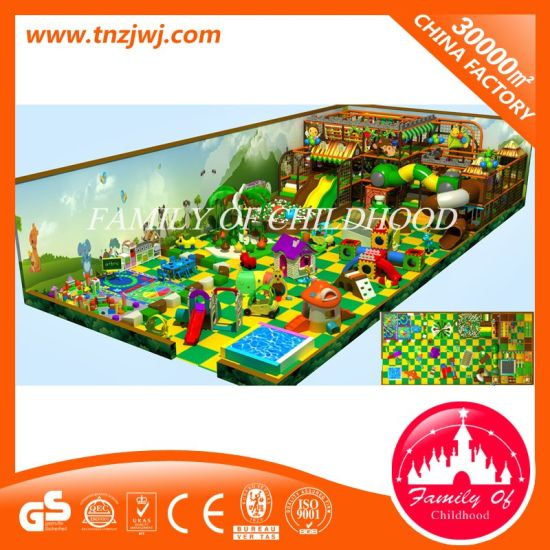 Kids Soft Indoor Playground Equipment, Indoor Playroom, Park Facilities pictures & photos