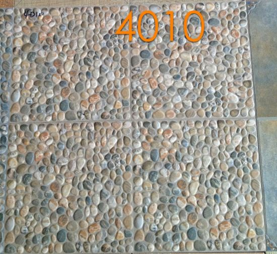 China 400x400mm Ceramic Floor Tiles Stone Rustic Floor Tile For