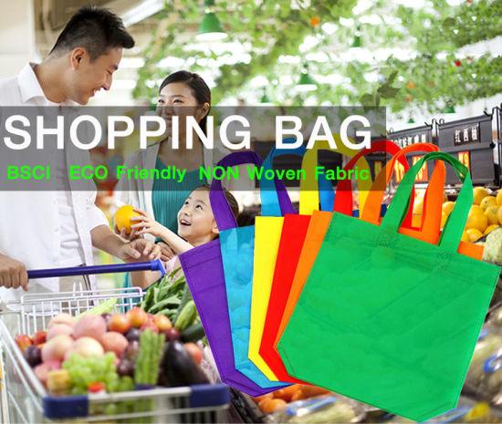 2019 Top Quality for Promotion Wholesale Eco Cheap Cloth Brand PP Woven Bag, Non Woven Bag