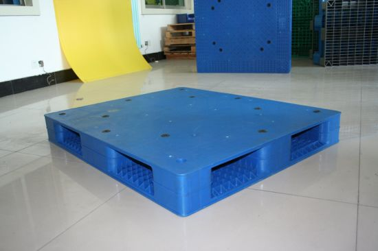 Factory Plastic Pallet Grid Plastic Palle Theavy Weight Forklift Pallets for Warehouse Shelves Use Plastic Pallet