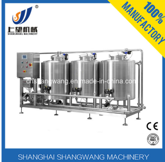 CIP System for Dairy Productin Line