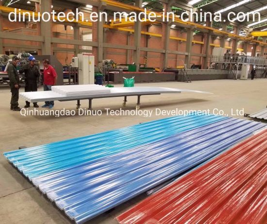 Multifunctional FRP Transparent Translucent Roofing Sheet Making Machine with Reasonable Price