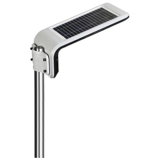 Dusk to Dawn Smart LED Integrated 10W Solar Pole Light