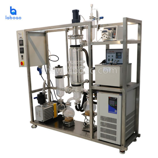 Wiped Film and Thin Film Evaporation Machine for Essential Oil Molecular Distillation