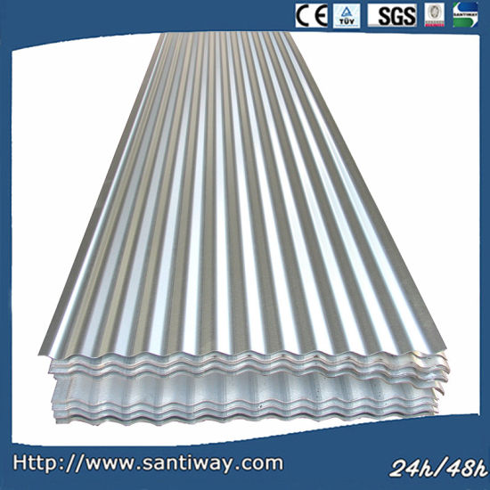 Galvanized Corrugated Steel Building Material Roofing Sheet