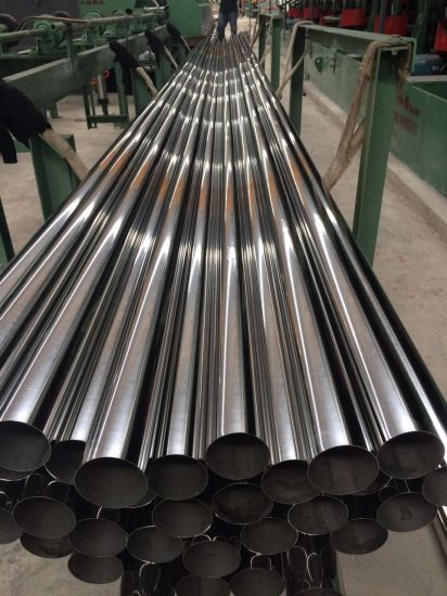 SUS201 Stainless Steel Welded Pipe and Tube pictures & photos