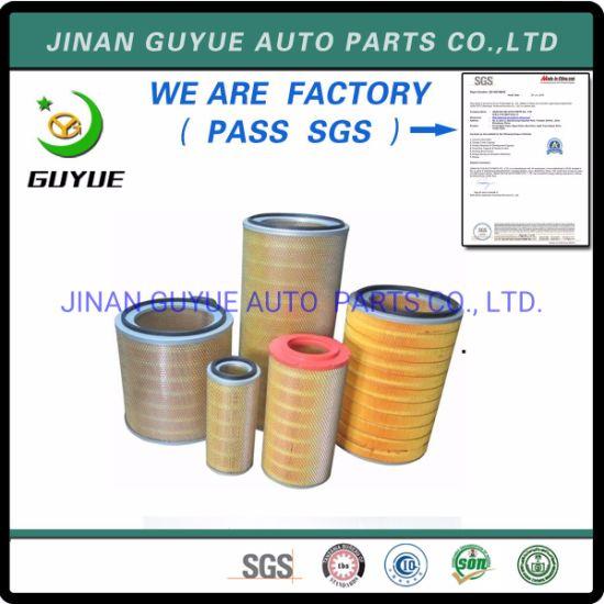 for Yutong Zhongtong Higer Golddragon Kinglong Fleetguard Bus Parts Air Filter