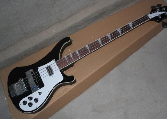 58c8bb8de2 4 Strings Rickenback 4003 Fireglo Electric Bass Black Finish Ricken 4003  Bass with Mono&Stereo Input Jacks Bass