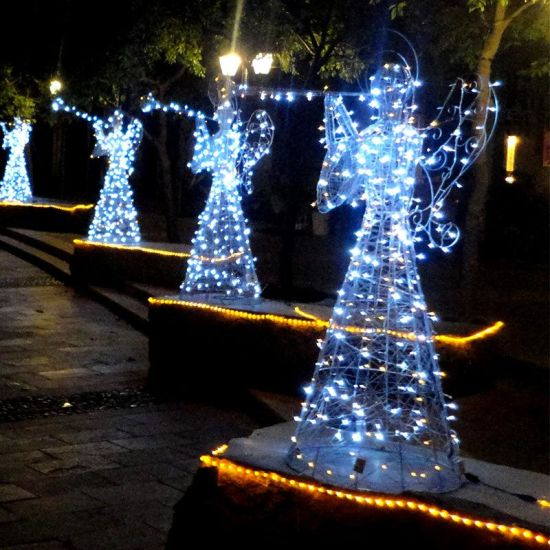Christmas Ty 2021 Products China 2021 New Products Outdoor Christmas Decoration Lighting 3d Angel Led Motif Lights Manufacturer China Angel Motifs And 3d Motif Light Price