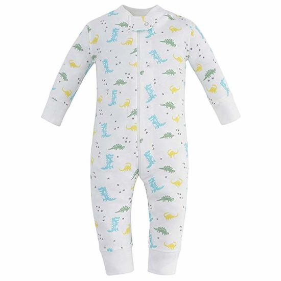3e7b46bf7e6c China Organic Cotton Baby Boy Girl Zip up Sleep N Play