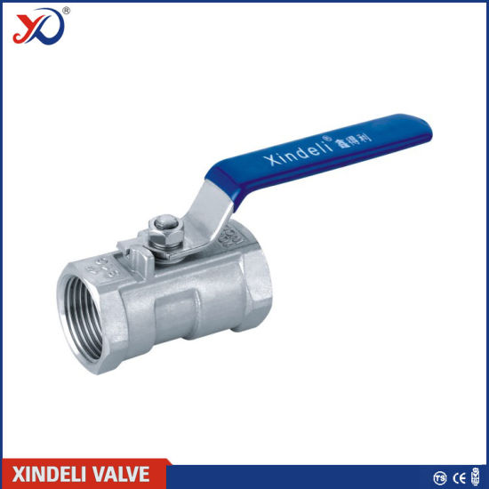 1PC Threaded Stainless Steel Ball Valve with Ce Certificate pictures & photos