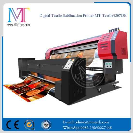 Digital Linen Fabric Printer 1.8m Textile Printer