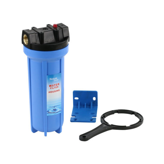 10 Blue Water Filter Housing with PP Material pictures & photos