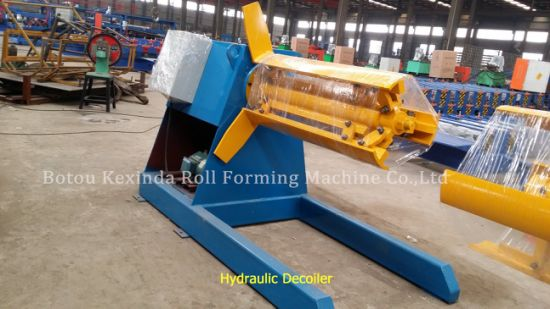 Hydraulic Full-Automatic Decolier Roll Forming Machine for Sale pictures & photos