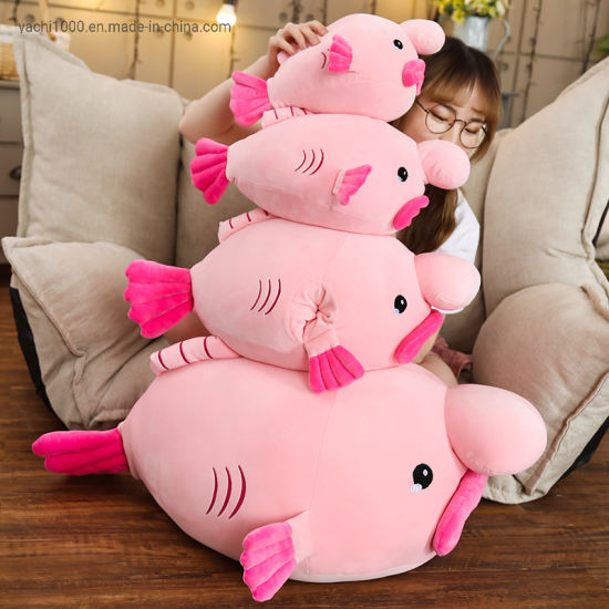 Wholesale En71 Certification Soft Plush Toy Ugly Fish Doll Children Toy