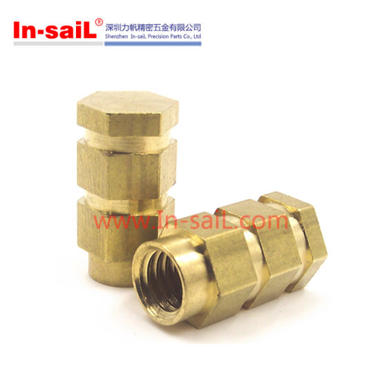 China Brass Threaded Insert Nut for Thermoplastic - China
