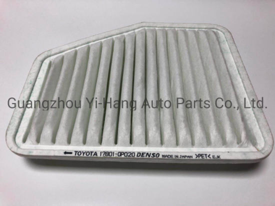 Wholesale High Quality Non-Woven Fabric Auto Parts HEPA Air Filter 17801-0p020 pictures & photos