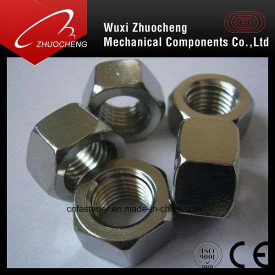 Stainless Steel Carbon Steel Hex Nut Fastener DIN934 DIN936 pictures & photos