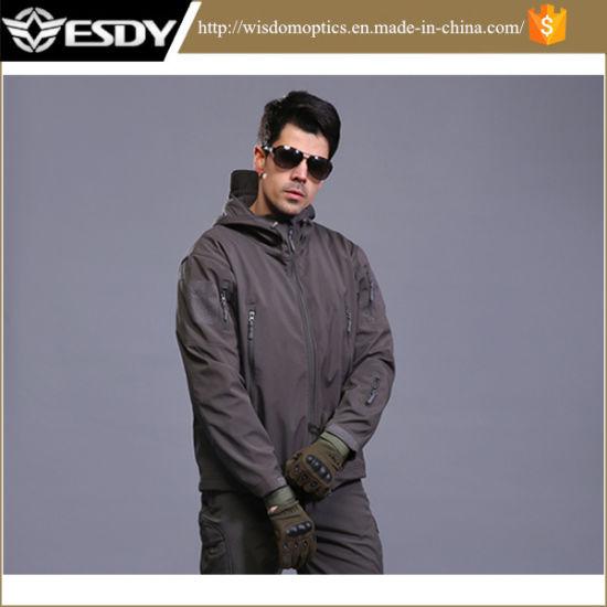 Men's Outdoor Hoodie Military Sports Warm Waterproof Winter Jacket