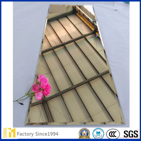 China Supplier 1.8mm-8mm Full-Length Silver Mirror with Polished Edge