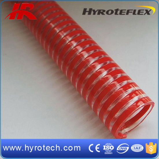 China Flexible PVC Helix Water Pump Suction Hose pictures & photos