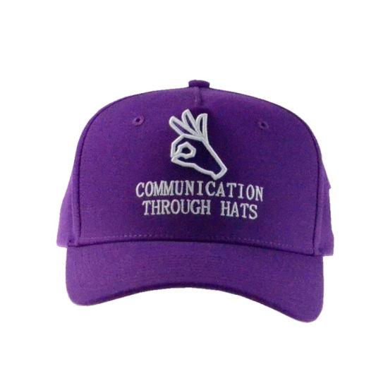831ef531448 Custom Sun Visor Cap Sports Cap Golf Hat 5 Panel Cotton Baseball Cap