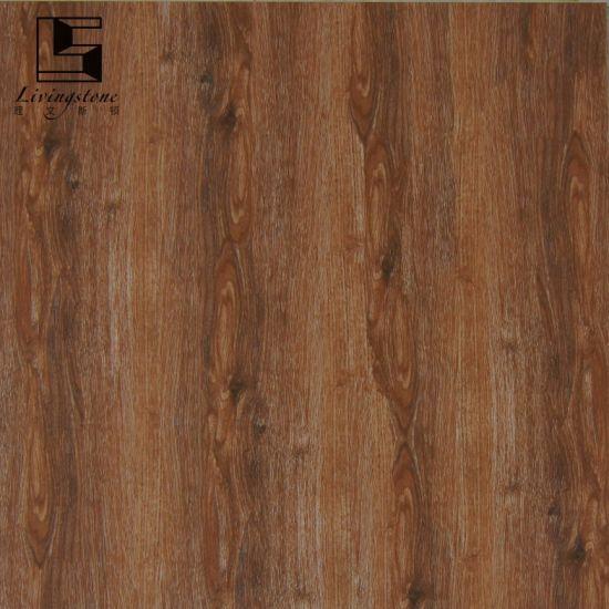 China Wooden Flooring Tile Dark Color Inkjet Polished Tiles China