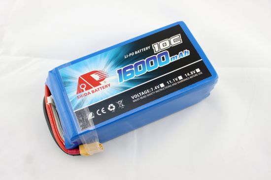 16000mAh 22.2V Lithium Polymer Battery for Agricultural Drone pictures & photos