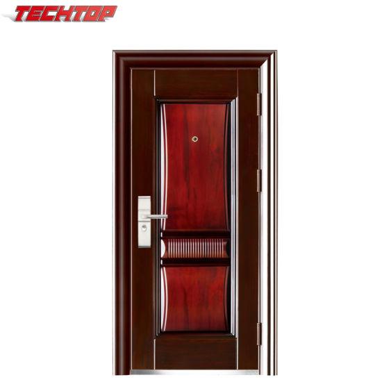 TPS-145 Kerala House Main Door Design Single Steel Doors Models  sc 1 st  Yongkang Techtop Commercial \u0026 Trade Co. Ltd. & China TPS-145 Kerala House Main Door Design Single Steel Doors ...