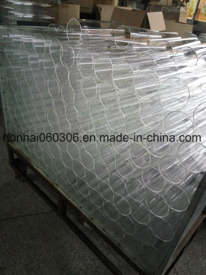Clear Fire-Polishing Borosilicate Glass Tube pictures & photos