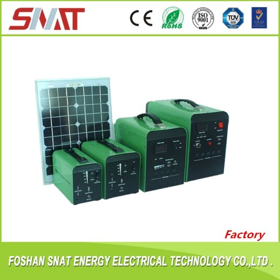 20W Solar Power System for Power Supply