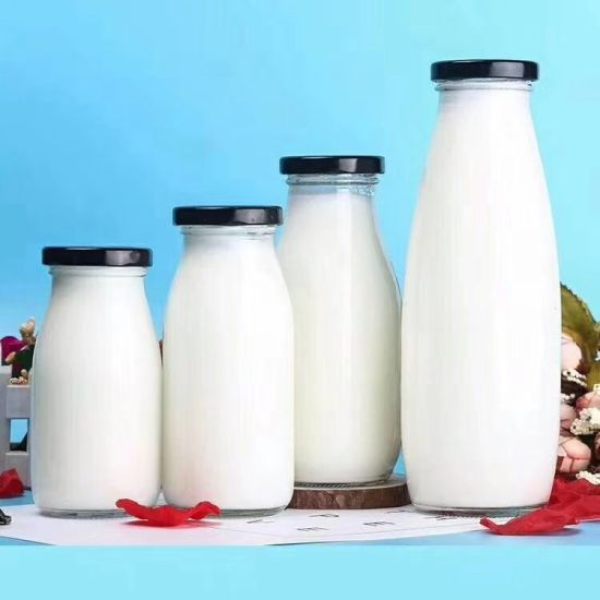 Milk Glass Bottle for Wholesale and Sales Promotion
