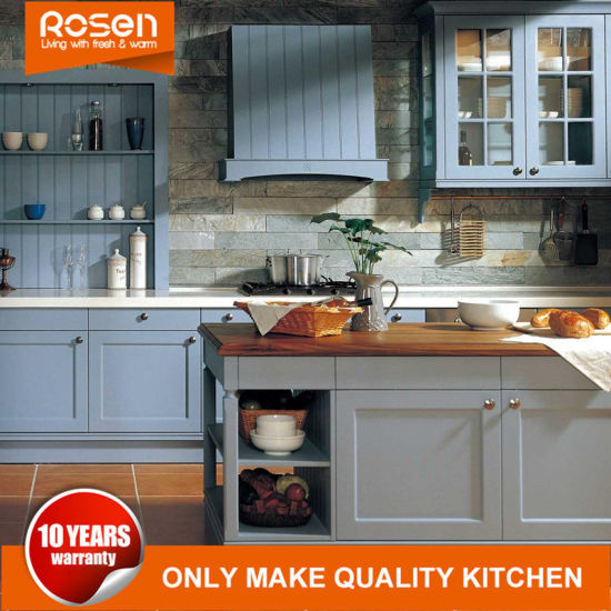China Two Sided Glass Door Simple Style Kitchen Cabinets Furniture China Reproduction Furniture High Gloss Kitchen Cabinet