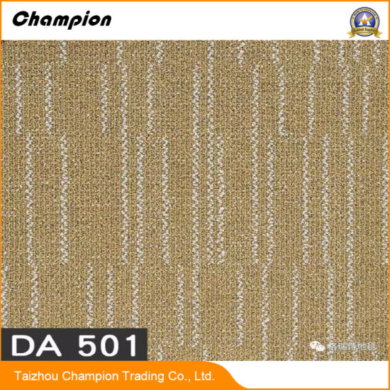 Da300 500 Commercial Office Floor Coverings Carpet Tiles Easy Clearance Design Home Decoration Pvc Vinyl