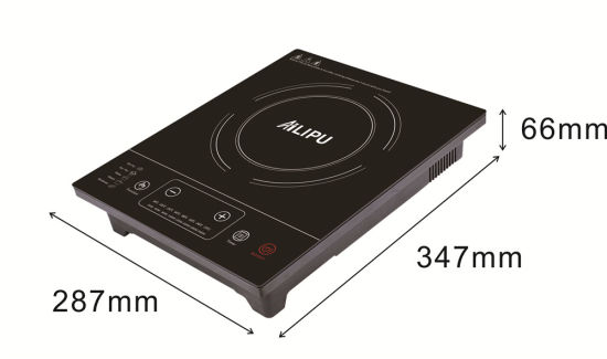 2015 Alipu 1 Burner CB Certificate 2000 Watt Portable Save Energy Slide Control Electric Induction Cooker pictures & photos