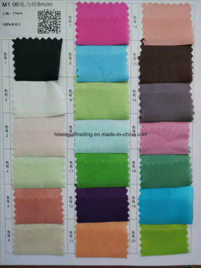 8mm Width: 114 Silk Habotai Fabric pictures & photos