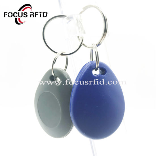 13.56MHz S70 S50 ABS Leather RFID Key Fob NFC Keychain ID IC Key Card pictures & photos