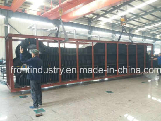 China Corrugated Sidewall Conveyor Belt with Natural Rubber