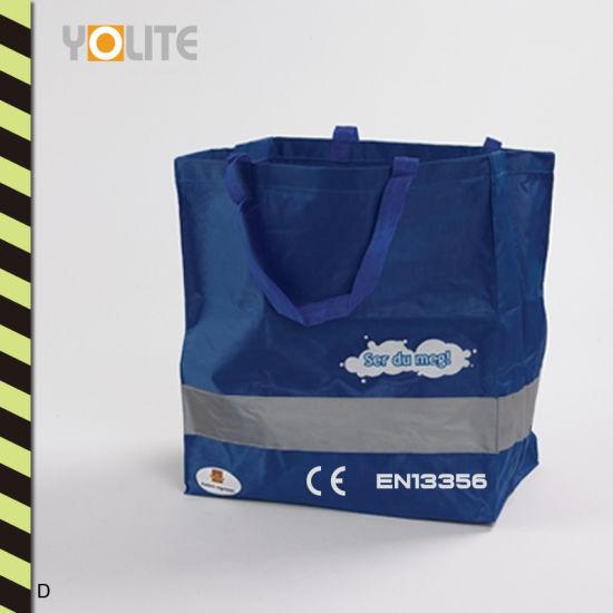 Wholesale Reflective Non Woven Bag Reflective Warning Shopping Bag